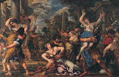 Rape Of The Sabines Poster