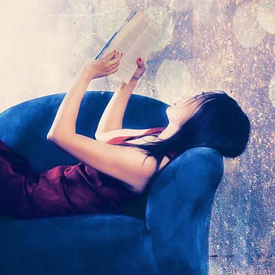 Reading Poster by Joana Kruse