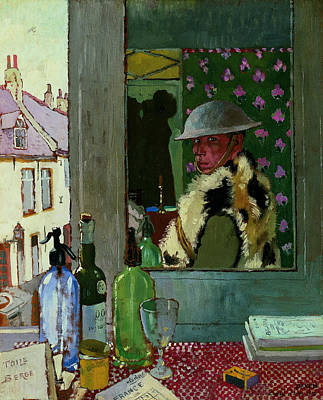 Ready To Start. Self Portrait Poster by William Orpen