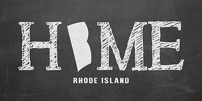 Ri Home Poster by Nancy Ingersoll