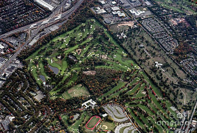 Ridgewood Country Club Aerial Photo Poster