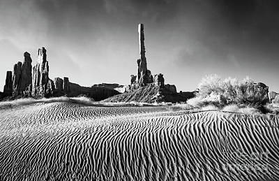 Poster featuring the photograph Rippled Dunes by Scott Kemper