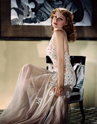 Rita Hayworth, Ca. 1940s Poster