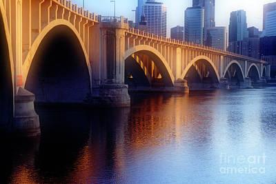 River Bridge Poster by Scott Kemper