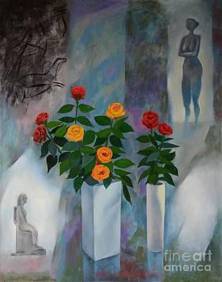 Roses Poster by Jukka Nopsanen