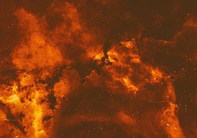 Rosette Nebula Poster by Mountain Dreams