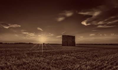Rural Sunset Poster by Jose Antonio Alba