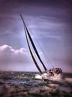 Sailing To Nantucket 003 Poster