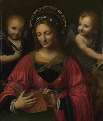 Saint Catherine Poster by After Bernardino Luini