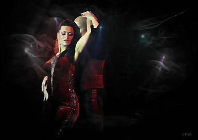 Salsa,salsadancer,salsadance, Poster by Jean Francois Gil