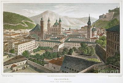 Salzburg, Austria, 1823 Poster by Granger