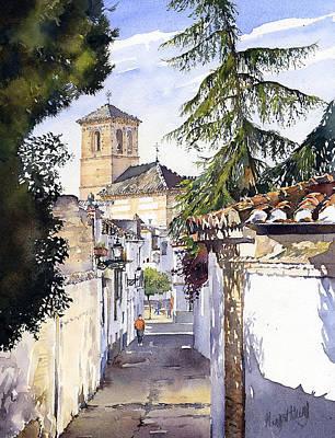 San Bartolome Albaicin Granada Poster