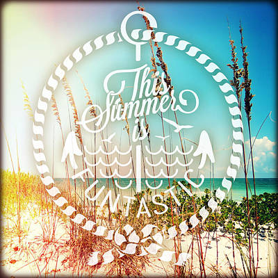 Sanibel Sea Oats Poster