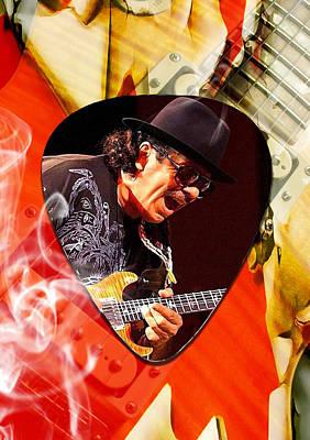 Santana Art Poster by Marvin Blaine