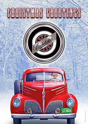 Santas Coupe Express Poster