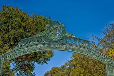 Sather Gate Detail Poster