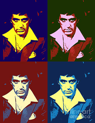 Scarface Pop Art Poster by Pd
