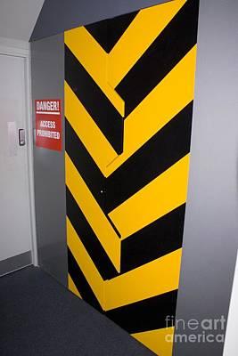 Security Door Poster by Mark Williamson