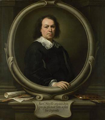 Self-portrait Poster by Bartolome Esteban Murillo