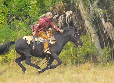 Seminole Indian Warrior Poster