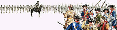 Seventy American Colonists Faced A Thousand British Regulars Poster