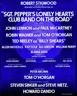 Sgt. Pepper's Program  Poster by Howard Dando