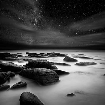 Shadows Of The Night Poster by Jorge Maia
