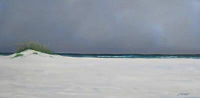 Shell Island Poster by Jan Prewett
