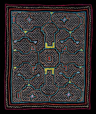 Shipibo Art Poster by Ulrich Schade