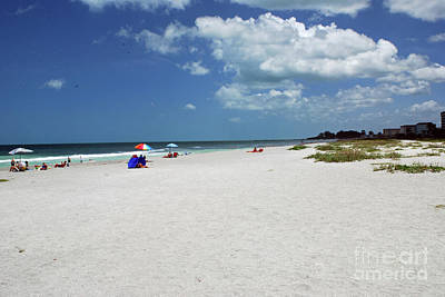 Poster featuring the photograph Siesta Key Beach by Gary Wonning
