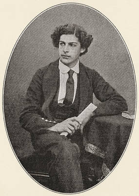 Sir Arthur Seymour Sullivan, 1842 Poster by Vintage Design Pics