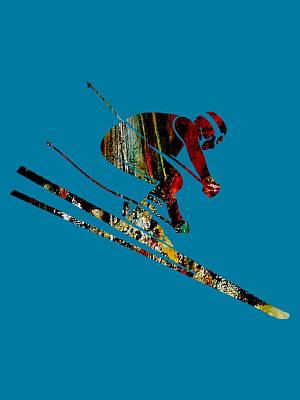 Skiing Collection Poster