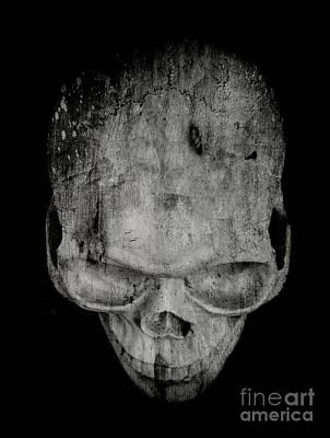 Skull Poster by Edward Fielding
