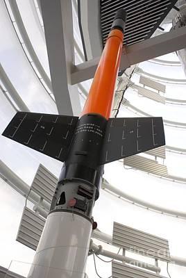 Skylark Sounding Rocket Poster by Mark Williamson