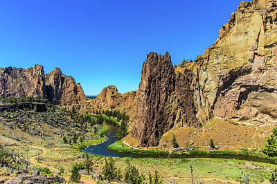 Poster featuring the photograph Smith Rock by Jonny D