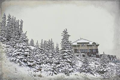 Snow In July Poster by Teresa Zieba