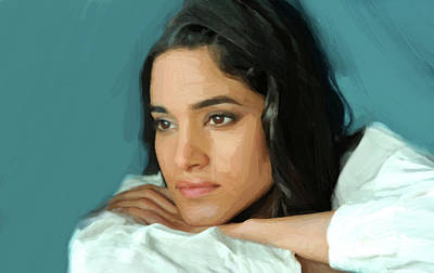 Sofia Boutella Print Poster by Best Actors