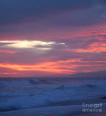 Poster featuring the photograph Soft Sunset by Michelle Wiarda