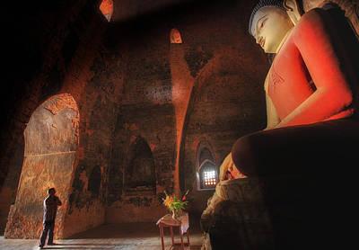 Southeast Asian Man Praying  Poster