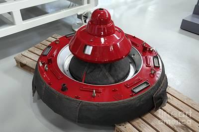 Soyuz-iss Docking Adaptor Poster by Detlev van Ravenswaay