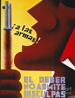 Spanish Civil War, 1937 Poster by Granger
