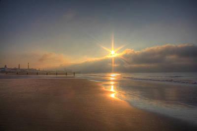 Sparkling Sunrise Poster by Sharon Batdorf