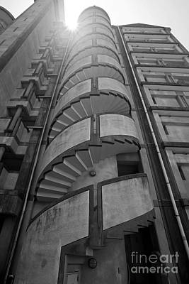 Poster featuring the photograph Spiral Staircase by Aiolos Greek Collections