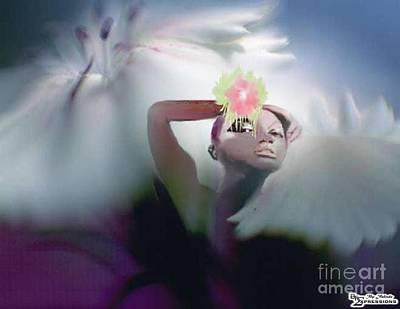 Spring Beauty Poster by Belinda Threeths