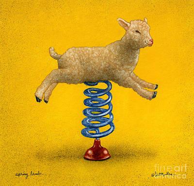 Spring Lamb... Poster