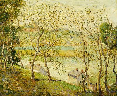Springtime, Harlem River Poster
