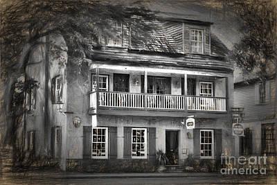 St George Inn Poster by C W Hooper