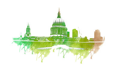 St Paul's Cathedral Poster by Martin Newman