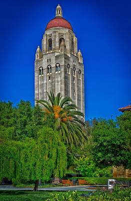 Stanford's Hoover Tower Poster by Mountain Dreams