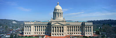State Capitol Of Kentucky, Frankfort Poster by Panoramic Images